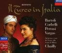 【送料無料】 Rossini ロッシーニ / 歌劇『イタリアのトルコ人』全曲シャイー&ミラノ・スカラ座管弦楽団、バルトリ、ペルトゥージ(2CD) 輸入盤 【CD】