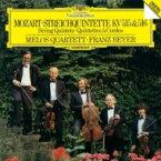 Mozart モーツァルト / 弦楽五重奏曲第3番、第4番 メロス四重奏団、フランツ・バイヤー 【CD】