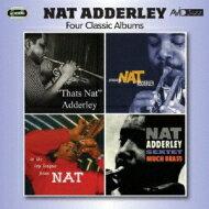 NatAdderleyナットアダレイ/4ClassicAlbums輸入盤【CD】