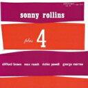 Sonny Rollins ソニーロリンズ / Sonny Rollins Plus 4 【SHM-