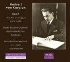 Bach, Johann Sebastian バッハ / 『フーガの技法』 ヘルベルト・フォン・カラヤン & 大ドイツ放送国営ブルックナー管弦楽団(1944) 輸入盤 【CD】