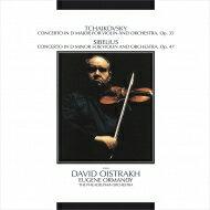 Tchaikovsky チャイコフスキー / チャイコフスキー: ヴァイオリン協奏曲、シベリウス: ヴァイオリン協奏曲 ダヴィド・オイストラフ、ユージン・オーマンディ & フィラデルフィア管弦楽団 【BLU-SPEC CD 2】