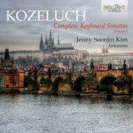 コジェルフ(1747-1818) / 鍵盤楽器のためのソナタ集第2集 キム・ジェニー・ソジン(フォルテピアノ)(2CD) 輸入盤 【CD】