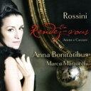 Rossini ロッシーニ / 『ランデヴー〜ロッシーニ歌曲集』アンナ・ボニタティブス、マルコ・マルゾッキ 輸入盤 【CD】