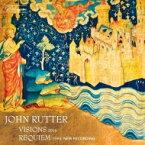 【送料無料】 Rutter ラター / レクィエム、ヴィジョンズ ジョン・ラター & ケンブリッジ・シンガーズ、アウローラ・オーケストラ、テンプル教会少年合唱団(2016) 輸入盤 【CD】