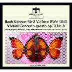 【送料無料】 Bach, Johann Sebastian バッハ / バッハ: 2つのヴァイオリンのための協奏曲、ヴィヴァルディ ダヴィド・オイストラフ、イーゴリ・オイストラフ、コンヴィチュニー & ゲヴァントハウス管(+ボーナス・トラック) 輸入盤 【CD】