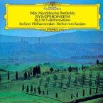 Mendelssohn メンデルスゾーン / 交響曲第5番『宗教改革』、第1番 ヘルベルト・フォン・カラヤン & ベルリン・フィル 【Hi Quality CD】