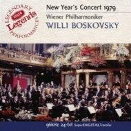 NewYear'sConcertニューイヤーコンサート/1979年ボスコフスキー&ウィーン・フィル輸入盤【CD】