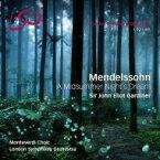 【送料無料】 Mendelssohn メンデルスゾーン / 『真夏の夜の夢』 ジョン・エリオット・ガーディナー & ロンドン交響楽団、モンテヴェルディ合唱団(+ブルーレイ・オーディオ) 輸入盤 【SACD】