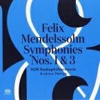 【送料無料】 Mendelssohn メンデルスゾーン / 交響曲第3番『スコットランド』、第1番 アンドルー・マンゼ & 北ドイツ放送フィル 輸入盤 【SACD】