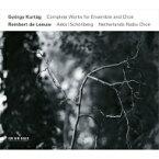 【送料無料】 クルターグ、ジェルジ(1926-) / アンサンブルと合唱のための作品全集 ラインハルト・デ・レーウ&アスコ・シェーンベルク・アンサンブル、オランダ放送合唱団(3CD) 輸入盤 【CD】