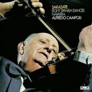 【送料無料】 Sarasate サラサーテ / Spanish Dances: Campoli B.bunt(Vn) Ibbott(P) 【LP】