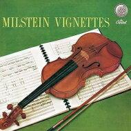 【送料無料】 Milstein: Vignettes-favourite Miniatures 【LP】