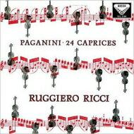 【送料無料】 Paganini パガニーニ / 24 Caprices: Ricci 【LP】