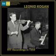 【送料無料】 R.シュトラウス:ヴァイオリン・ソナタ、ラヴェル:ツィガーヌ、他 レオニード・コーガン、ミトニク(1959) (モノラル盤 / 180グラム重量盤レコード / Spectrum Sound) 【LP】