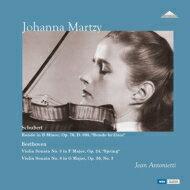 【送料無料】 Beethoven ベートーヴェン / ベートーヴェン:ヴァイオリン・ソナタ第5番『春』&第8番、シューベルト:華麗なるロンド マルツィ、アントニエッティ (1957) (国内プレス / 2枚組アナログレコード) 【LP】