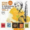 【送料無料】 Stan Getz スタンゲッツ / 5 Original Albums (5CD)