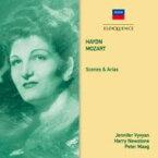 Haydn ハイドン / 『シェーナとアリア集〜ハイドン、モーツァルト』 ジェニファー・ヴィヴィアン、ハリー・ニューストーン&ハイドン管弦楽団 輸入盤 【CD】