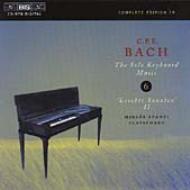 【送料無料】 Bach CPE バッハ / 鍵盤楽器独奏曲全集 vol.6 シュパーニ 輸入盤 【CD】
