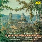 【送料無料】 Mendelssohn メンデルスゾーン / 交響曲全集 ヘルベルト・フォン・カラヤン&ベルリン・フィル(2SACD)(シングルレイヤー) 【SACD】