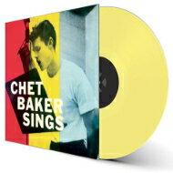 ジャズ, アーティスト名・C Chet Baker Sings ( 180 waxtime in color) LP