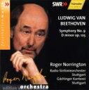 【送料無料】Beethoven ベートーヴェン / 交響曲第9番『合唱』 ノリントン指揮シュトゥトガルト放送交響楽団  輸入盤 【CD】