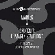 Bruckner ブルックナー / ブルックナー:弦楽五重奏曲(管弦楽版)、マーラー:交響曲第10番〜アダージョ ペーター・シュタンゲル&タッシェン・フィルハーモニー 輸入盤 【CD】