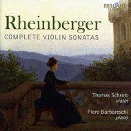 ラインベルガー(1839-1901) / ヴァイオリン・ソナタ第1番、第2番、歌曲編曲集 トーマス・シュロット、ピエトロ・バルバレスキ 輸入盤 【CD】