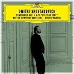 【送料無料】 Shostakovich ショスタコービチ / 交響曲第4番、第11番『1905年』 アンドリス・ネルソンス&ボストン交響楽団(2CD) 【SHM-CD】