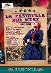 Puccini プッチーニ / 『西部の娘』全曲 デ・アナ演出、ユライ・ヴァルチュハ&ナポリ・サン・カルロ歌劇場、エミリー・マギー、ロベルト・アロニカ、他(2017 ステレオ)(日本語字幕付) 【DVD】