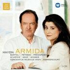 Haydn ハイドン / 『アルミーダ』全曲 ニコラウス・アーノンクール&ウィーン・コンツェントゥス・ムジクス、チェチーリア・バルトリ、他(2000 ステレオ)(2CD) 輸入盤 【CD】