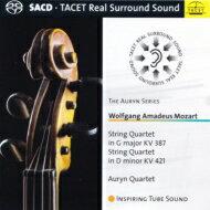 【送料無料】Mozartモーツァルト/弦楽四重奏曲第14番、第15番アウリン四重奏団輸入盤【SACD】