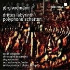 【送料無料】 ヴィトマン、イェルク (1973-) / 『対位法的陰影』『第三の迷宮』 ハインツ・ホリガー&ケルンWDR交響楽団、クリストフ・デジャルダン、サラ・ウェゲナー、他 輸入盤 【CD】