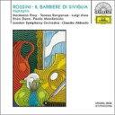 Rossini ロッシーニ / 『セビリャの理髪師』抜粋アバド&ロンドン響、プライ、ベルガンサ、他(1971ステレオ) 輸入盤 【CD】