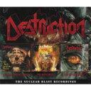 【送料無料】 Destruction デストラクション / Nuclear Blast Recordings (3CD) 輸入盤 【CD】