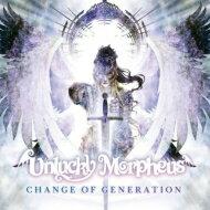 インディーズ, アーティスト名・あ行  Unlucky Morpheus CHANGE OF GENERATION CD