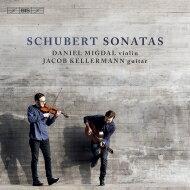 【送料無料】Schubertシューベルト/アルペジョーネ・ソナタ、ヴァイオリン・ソナタ、ソナチネデュオ・KeMi(ヴァイオリン&ギター)輸入盤【SACD】