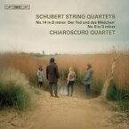 【送料無料】 Schubert シューベルト / 弦楽四重奏曲第14番『死と乙女』、第9番 キアロスクーロ四重奏団 輸入盤 【SACD】