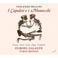 【送料無料】 Bellini ベッリーニ / 『カプレーティとモンテッキ』全曲 ファビオ・ビオンディ&エウローパ・ガランテ、ヴィヴィカ・ジュノー、ヴァレンティナ・ファルカシュ、他(2014 ステレオ)(2CD) 輸入盤 【CD】