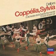 Delibesドリーブ/Coppelia,Sylvia(Hlts):Ansermet/Sro【CD】
