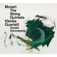 【送料無料】Mozartモーツァルト/Comp.stringQuintets:KlenkeQSchoneweg(Va)輸入盤【CD】
