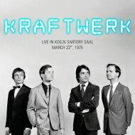 Kraftwerkクラフトワーク/LiveInKoelnSartorySaal,March22nd,1975【LP】