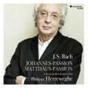 【送料無料】 Bach Johann Sebastian バッハ / マタイ受難曲、ヨハネ受難曲フィリップ・ヘレヴェッヘ&コレギウム・ヴォカーレ(1998、2001)(5CD) 輸入盤 【CD】