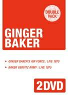 Ginger Baker / Ginger Baker's Airforce 1970 / Baker Gurvitz Army 1975 (2DVD) 【DVD】