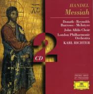 Handel ヘンデル / 『メサイア』(英語版) カール・リヒター / ロンドン・フィル 輸入盤 【CD】
