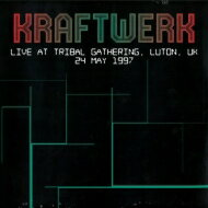 洋楽, アーティスト名・K Kraftwerk Live At Tribal Gathering. Luton. Uk 24 May 1997 LP