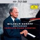 【送料無料】 Beethoven ベートーヴェン / ピアノ・ソナタ全集 ヴィルヘルム・ケンプ(8CD+ブルーレイ・オー