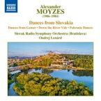 モイゼス、アレクサンデル(1906-1984) / ゲメルの舞曲、ヴァーフ川を下って、ポロニエ舞曲 オンドレイ・レナルト&スロヴァキア放送交響楽団 輸入盤 【CD】