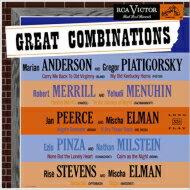 【送料無料】 『ザ・グレート・コンビネーションズ』 マリアン・アンダーソン、ロバート・メリル、他 (180グラム重量盤レコード / Analogphonic) 【LP】