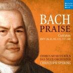 【送料無料】 Bach, Johann Sebastian バッハ / カンタータ第140番、第137番、第115番、第95番、第41番、第26番 クリストフ・シュペリング&ダス・ノイエ・オルケスター、コールス・ムジクス・ケルン(2CD) 輸入盤 【CD】